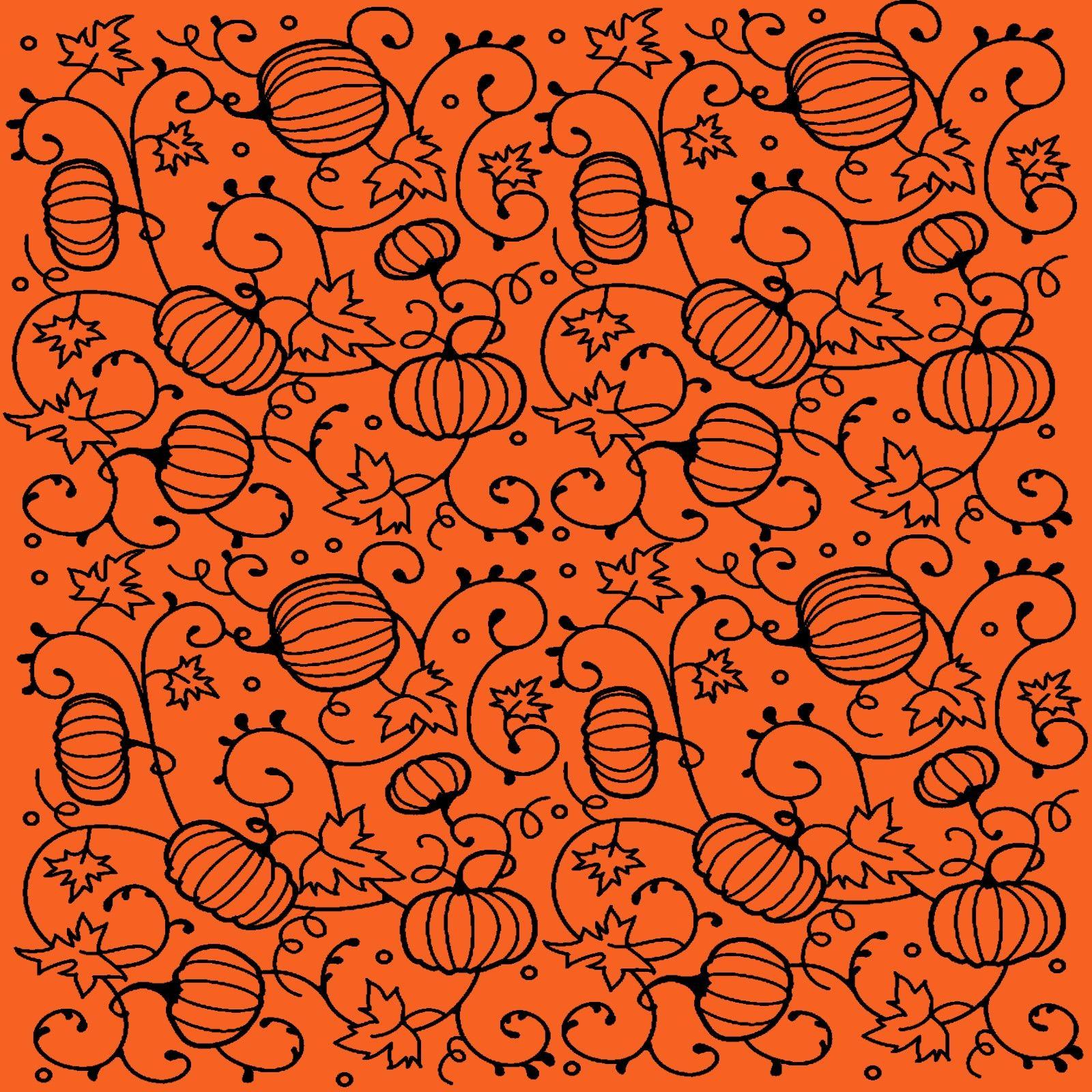pumpkins wrap paper
