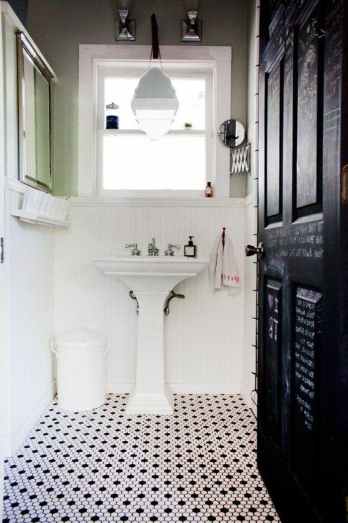 Vous Cherchez Des Idees Pour Un Carrelage Noir Et Blanc Carrelage Salle De Bain Salle De Bain Carrelage Noir Et Blanc