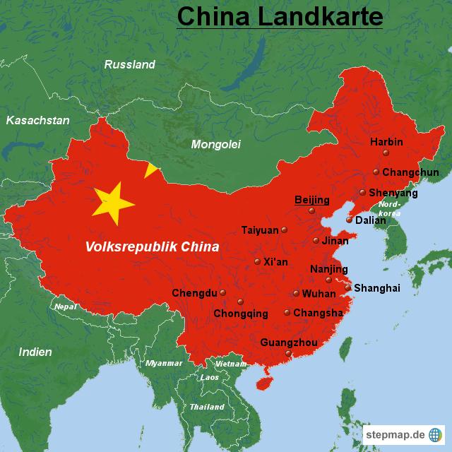 China China Landkarte Von Landkarten Landkarte Fur China