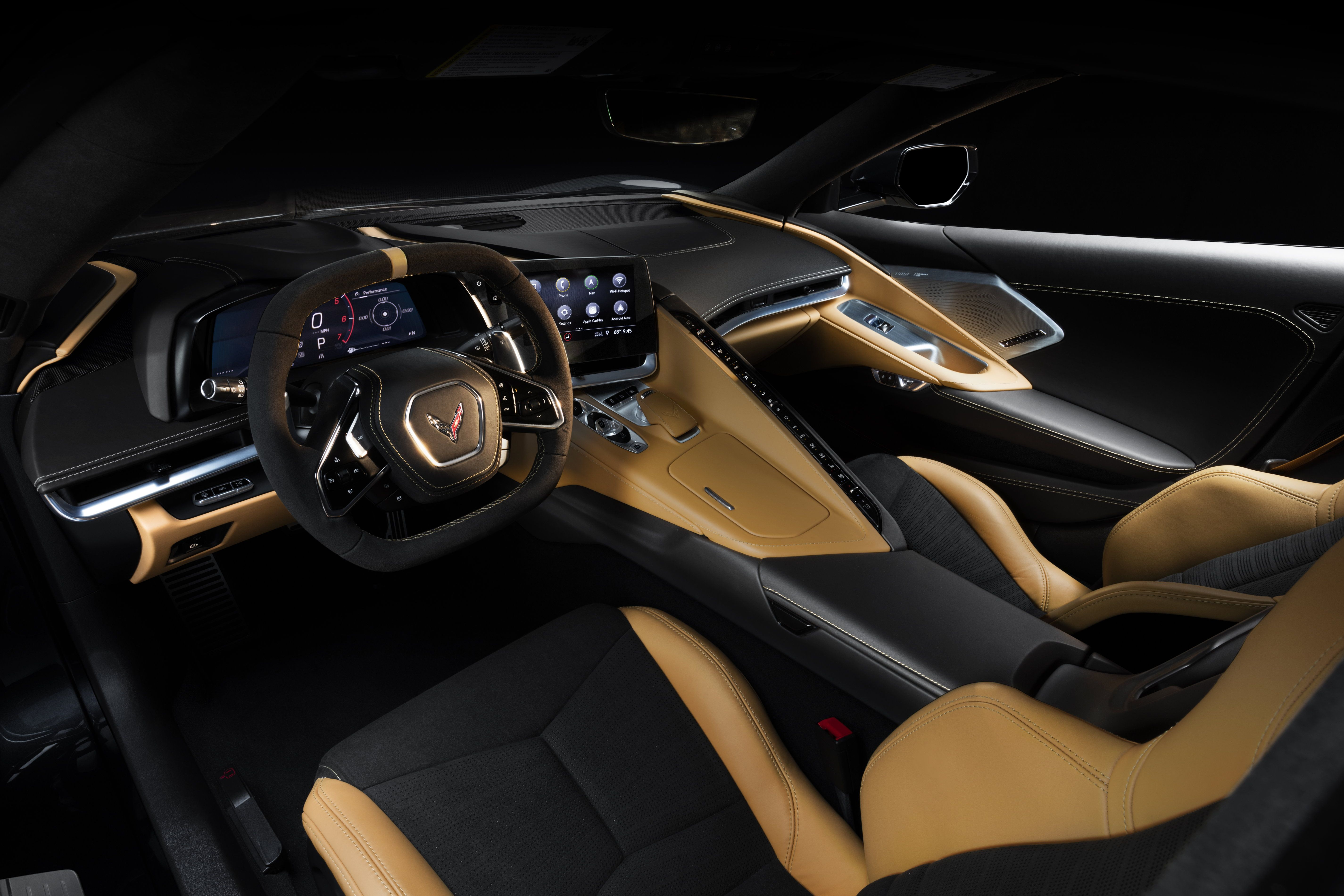 The New 2020 Chevy C8 Corvette S Interior Is Befitting Of A Supercar Even Though It Will Start At Under 60 000 Chevrolet Corvette Stingray Chevrolet Corvette Corvette Stingray