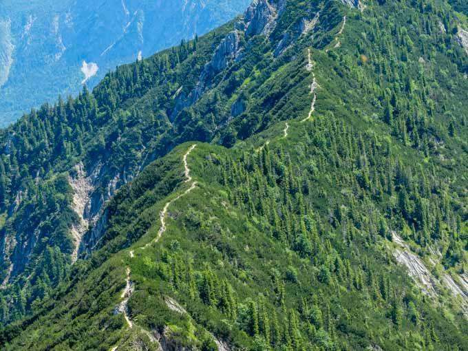 Klettersteig Walchensee : Der berg ruft eine gratwanderung hoch über dem walchensee