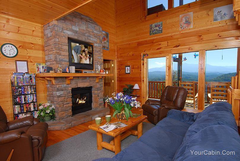 Bluebirds Over The Smokies 5 Bedroom Cabin Rental Smoky Mountains Cabins Cabin Rentals Cabin