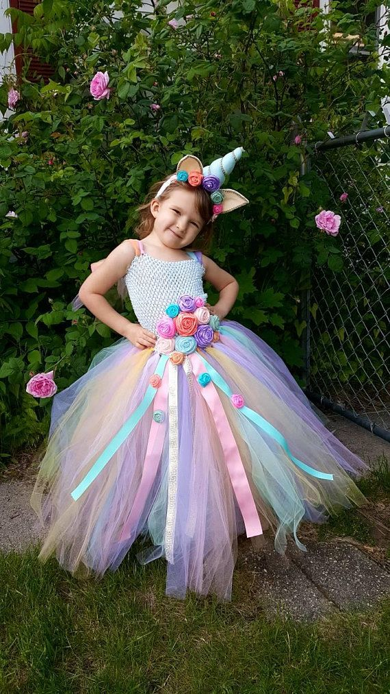 14738caea7e Unicorn dress - Unicorn Birthday - Unicorn horn - Halloween Costume - Cosplay  Costume - Rainbow Unic