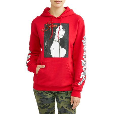 info for 8dd35 b07e7 Juniors' Licensed Graphic Selena Pullover Hoodie, Size ...