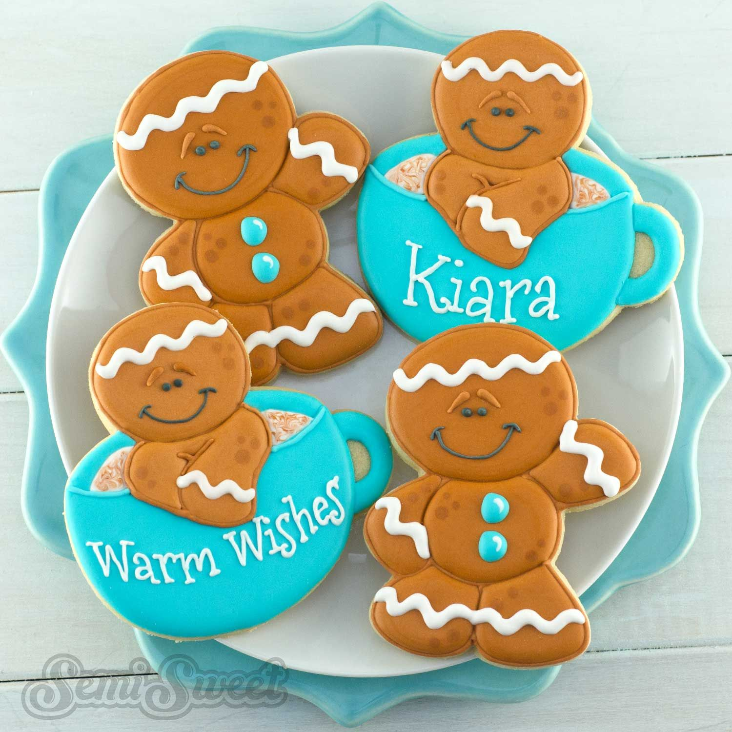 How To Make Decorated Gingerbread Man Cookies Reposteria