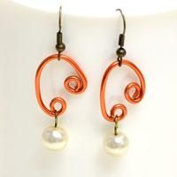 How to Make Easy Pearl Drop Earrings with Rhinestone Bead - Pandahall.com