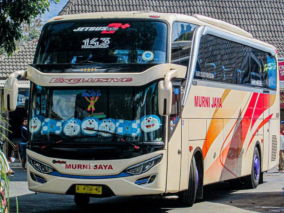 Pin Di Foto Bus Murni Jaya