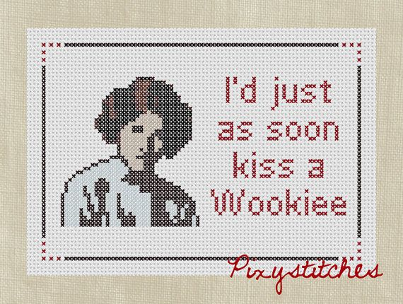 Counted Cross Stitch Patterns with a pop culture by velvetelvii