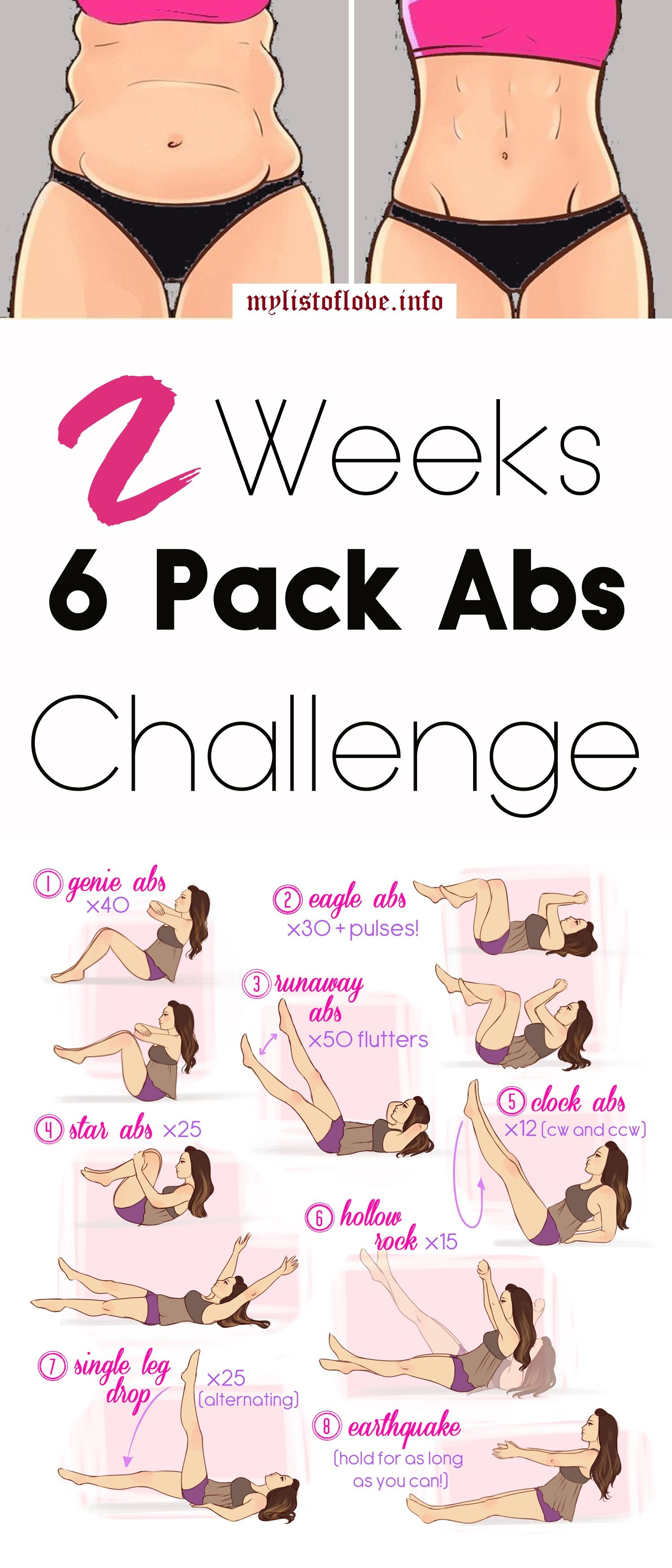 8 pack abs workout pdf