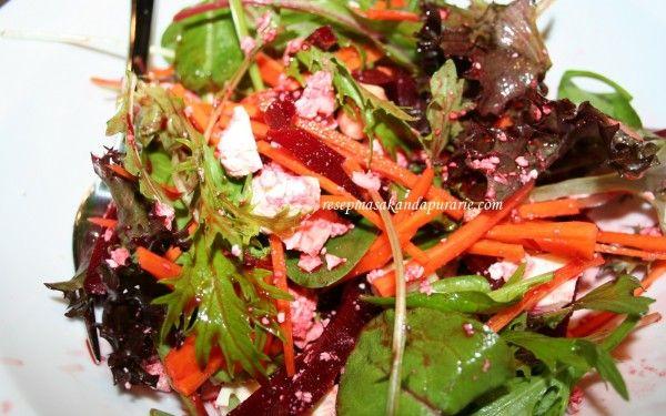 Resep Cara Membuat Salad Beetroot Feta Cheese Macadamia Beetroot Feta Salad