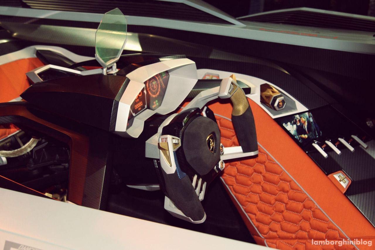 Lamborghini Egoista Blue Interior   Google Search