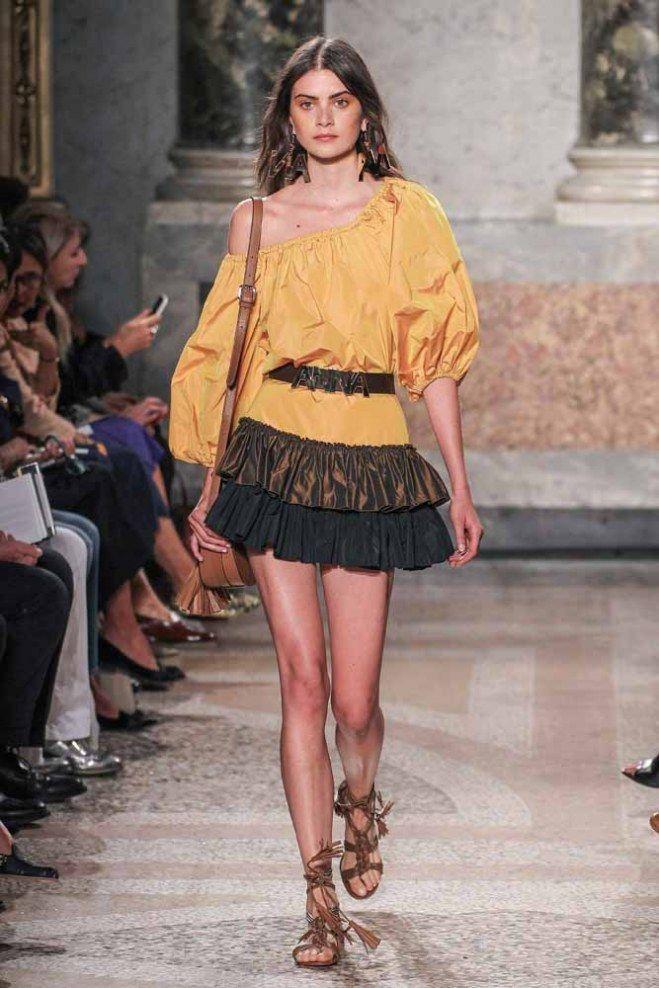 #Blugirl Primavera-Verano 2016 #MFW #fashion #style #runway