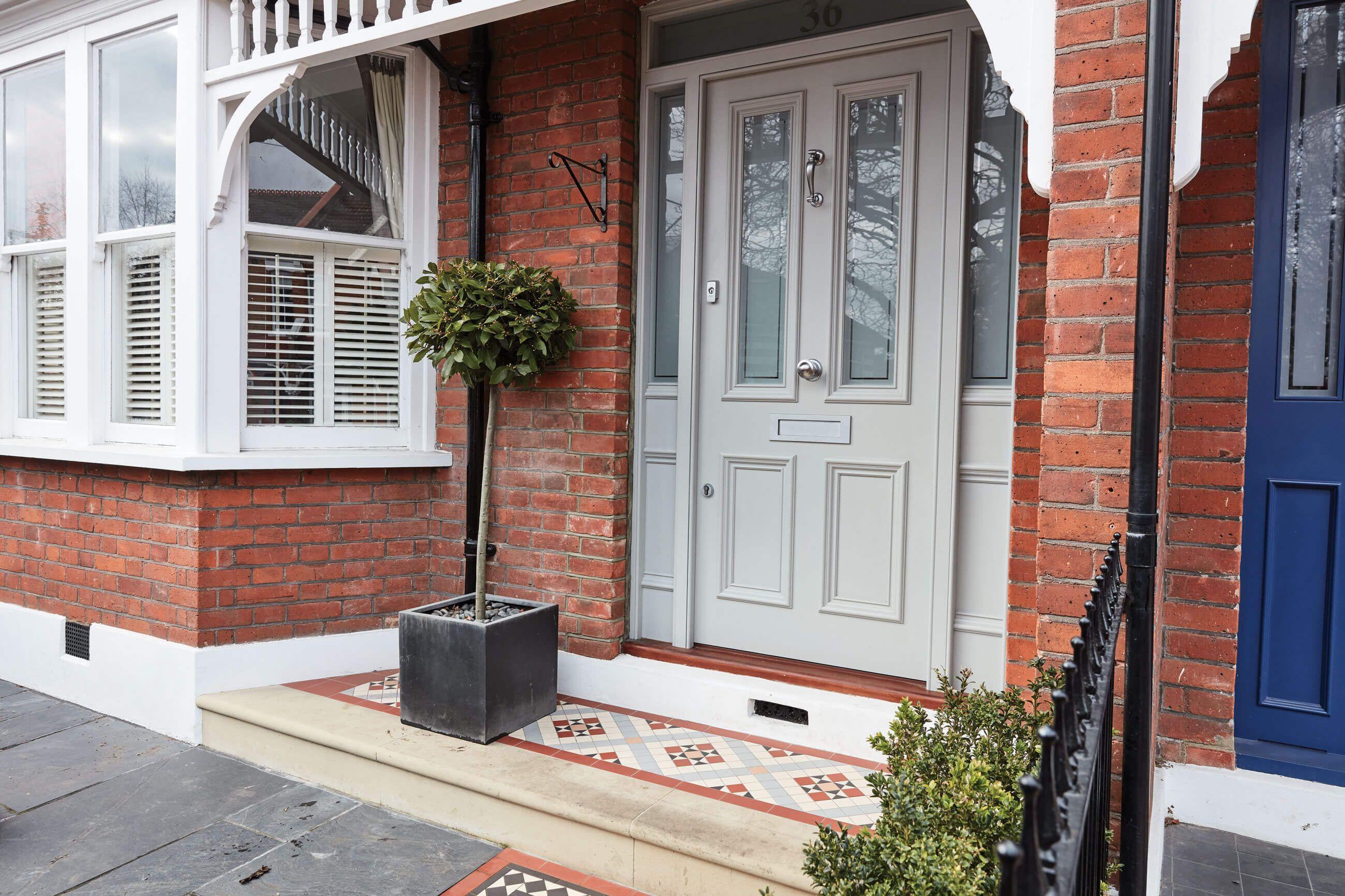 upvc front doors b and q