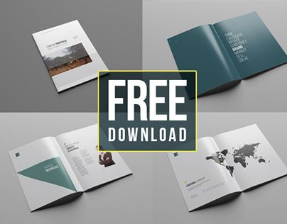 A Minimal 38 Pages Company Profile Template; Perfect For Small And Big  Agencies. Present  Company Portfolio Template