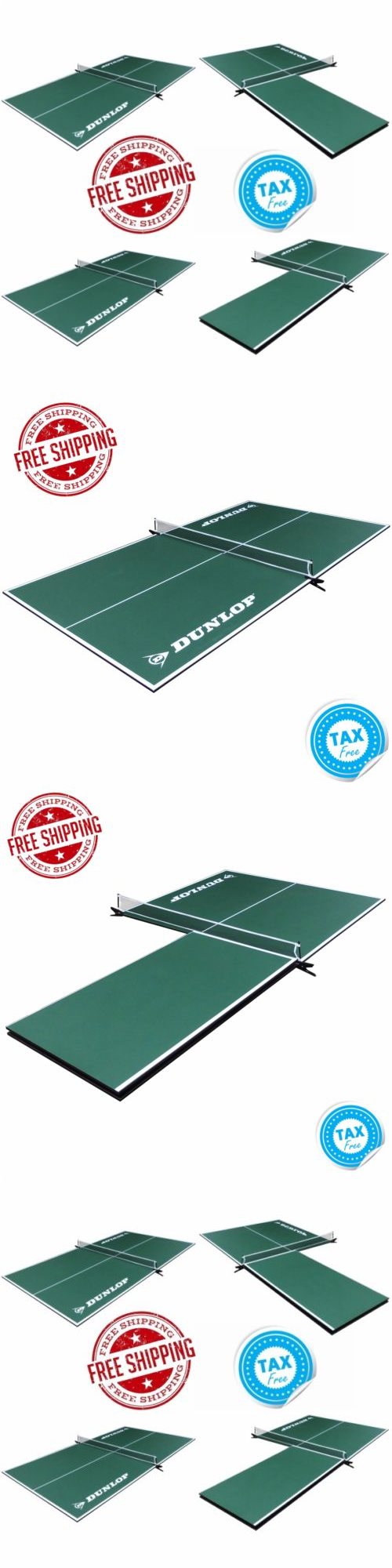 Tables 97075: Ping Pong Table Tennis 4 Piece Conversion Top Outdoor Kid  Indoor Folding