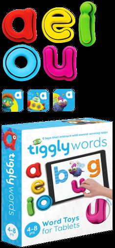 Tiggly Tales Word Building & Storytelling Kids Game