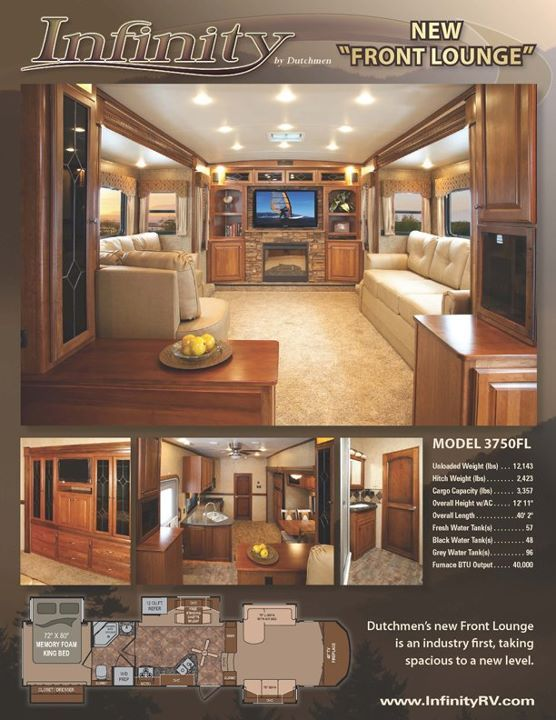 I Love Love Love The Front Living Room Design Luxury Rv Fifth