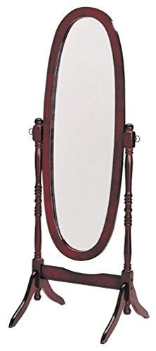 Espresso Finish Wooden Cheval Bedroom Floor Mirror Cherry Oval Continue To The Product At The Imag With Images Standing Mirror Floor Standing Mirror Home Decor Mirrors