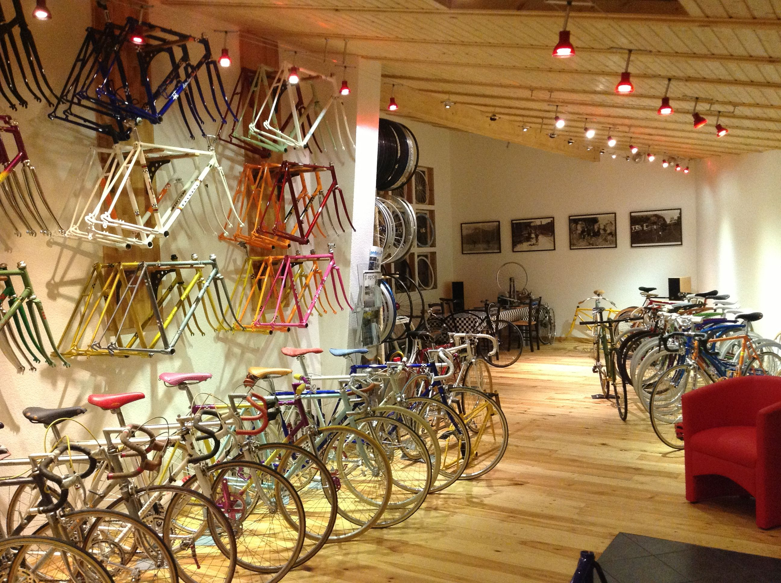 View In My Workshop Showroom Bike Design Bicycle Design
