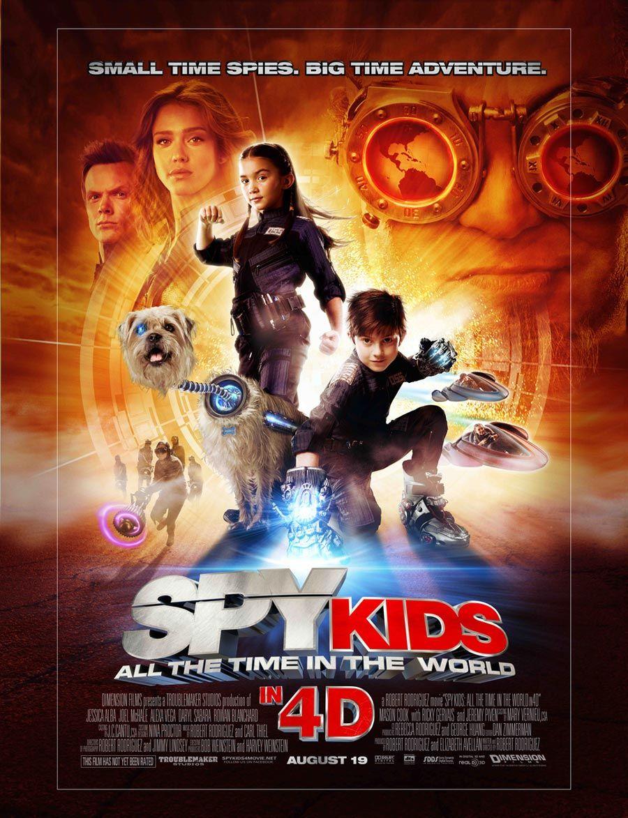 Spy Kids 4 Pequenos Espioes Filmes Espias