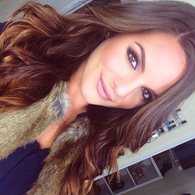 #caseyholmes #makeuplook #longhair
