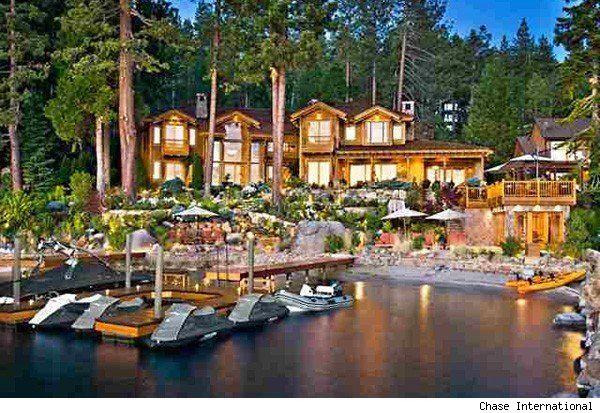 Oracle CEO Larry Ellison Lists $285 Million Lake Tahoe Mansion - ceo description