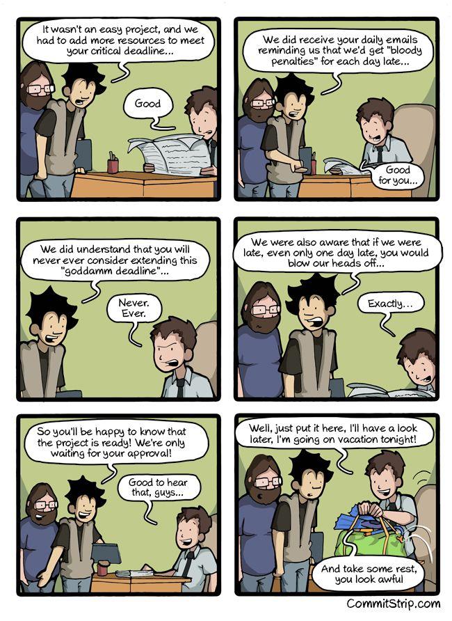 Deadlines Nerd Humor Geek Humor Tech Humor