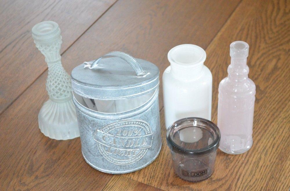 Kaarsenhouder pot, 100% Candle light - De Tien Style