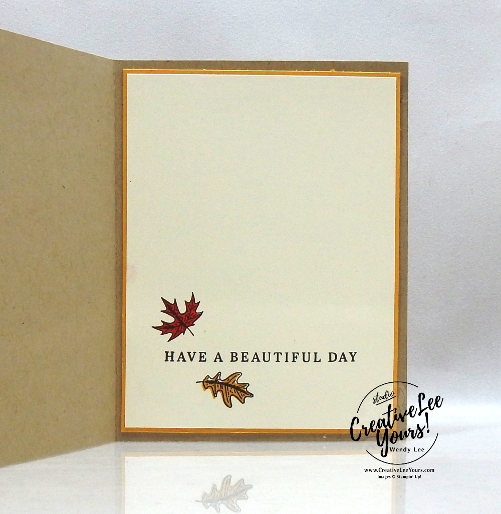 Falling Leaves Video Send A Card Paper Crafts Fall Cards