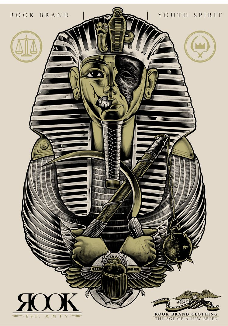 Egyptian God Egyptian Pharaoh Tattoo