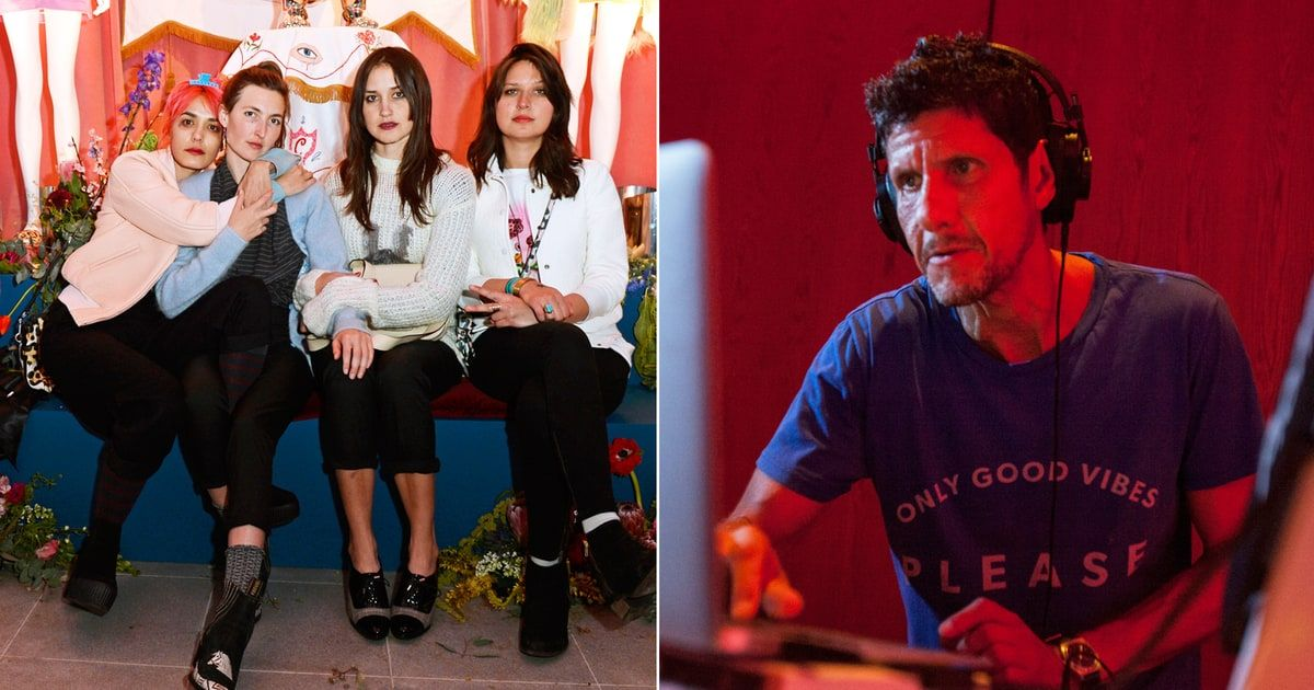 Hear Mike D S Bass Heavy Remix Of Warpaint S New Song News Songs Songs Remix