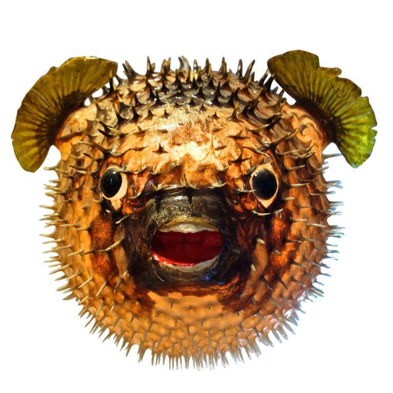 Giant Vintage Puffer Fish Chandelier 1stdibs Com Giant Vintage Chandeliers And Pendants Unique Chandeliers