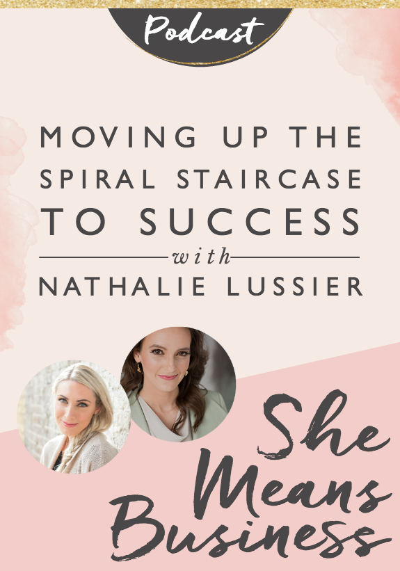 Best Moving Up The Spiral Staircase To Success With Nathalie 400 x 300