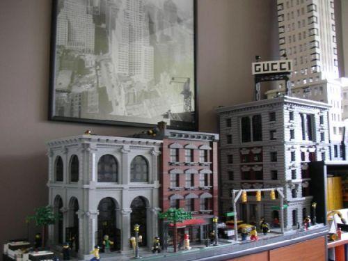 street scene 2: A LEGO® creation by Danny Budd : MOCpages.com
