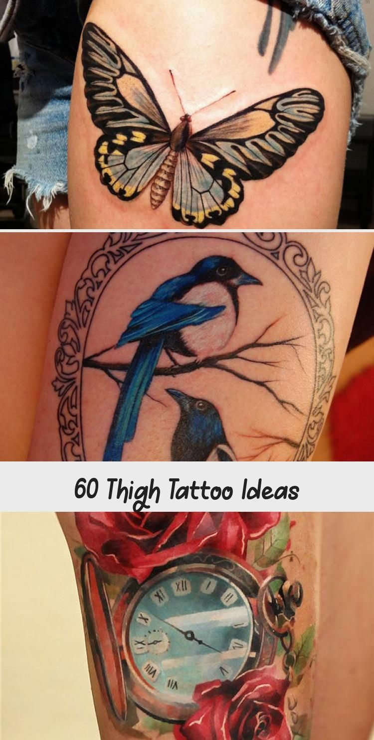 Photo of 55 Thigh Tattoo Ideas #ornamentaltattooFoot #ornamentaltattooDrawing #ornamental…