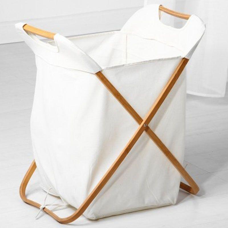 21 cesto de ropa sucia de cruceta plegable realizada en - Cestos para ropa sucia ...