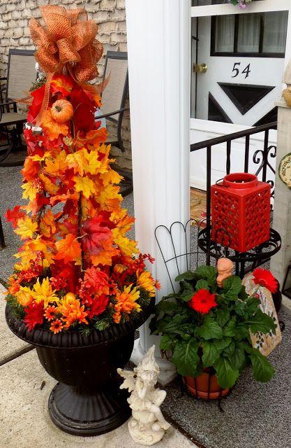 Autumn Topiary Tutorial