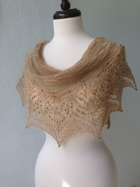 Mustardseed pattern by Boo Knits   downton knits   Pinterest   Chal ...