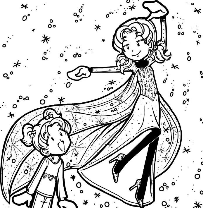 Dork Diaries / Frozen. I\'m willing to bet money that Makinzie is a ...