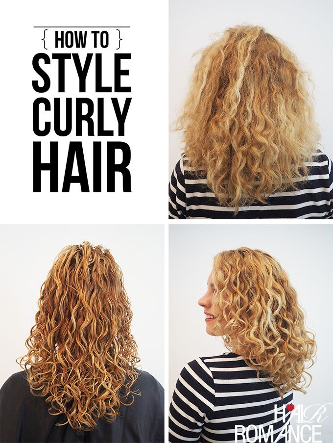 How To Style Curly Hair For Frizz Free Curls Video Tutorial Hair Romance Frizz Free Curls Curly Hair Styles Curly Hair Styles Naturally