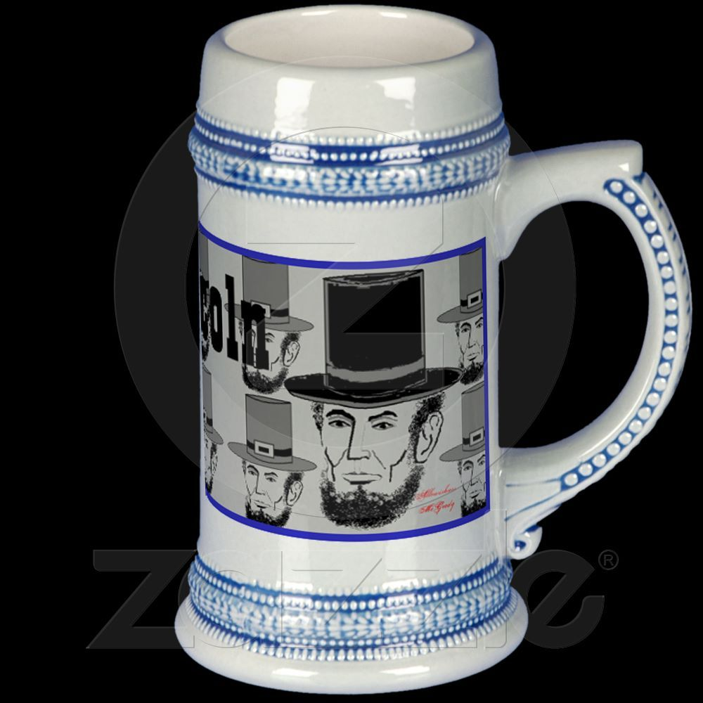 Vote for Lincoln 1861 campaign stein Mug from Zazzle.com