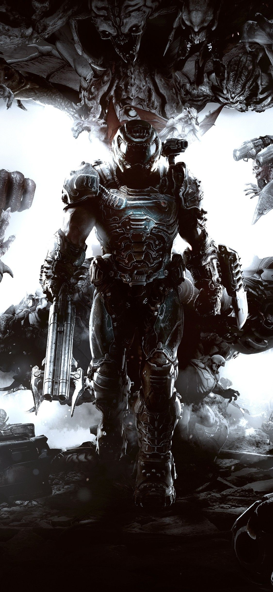 Best Of Doom Iphone Wallpaper Doom Videogame Doom Demons Doom Game