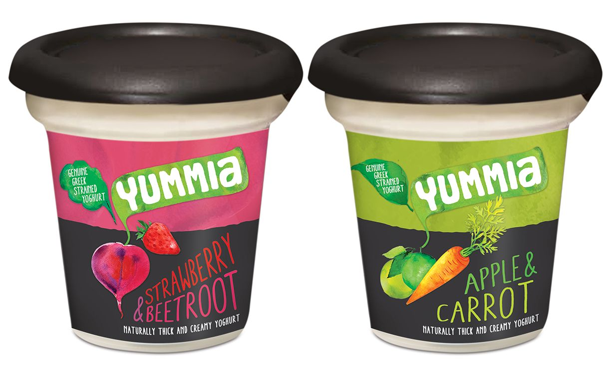 Yummia unveils 'improved' recipe for its fruit and vegetable yogurts