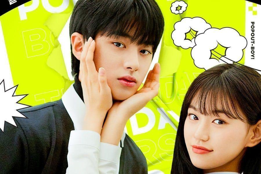 Kim Min Kyu + Weki Meki's Kim Doyeon Can't Fight Their Feelings In 1st Poster For New Webtoon Adaptation