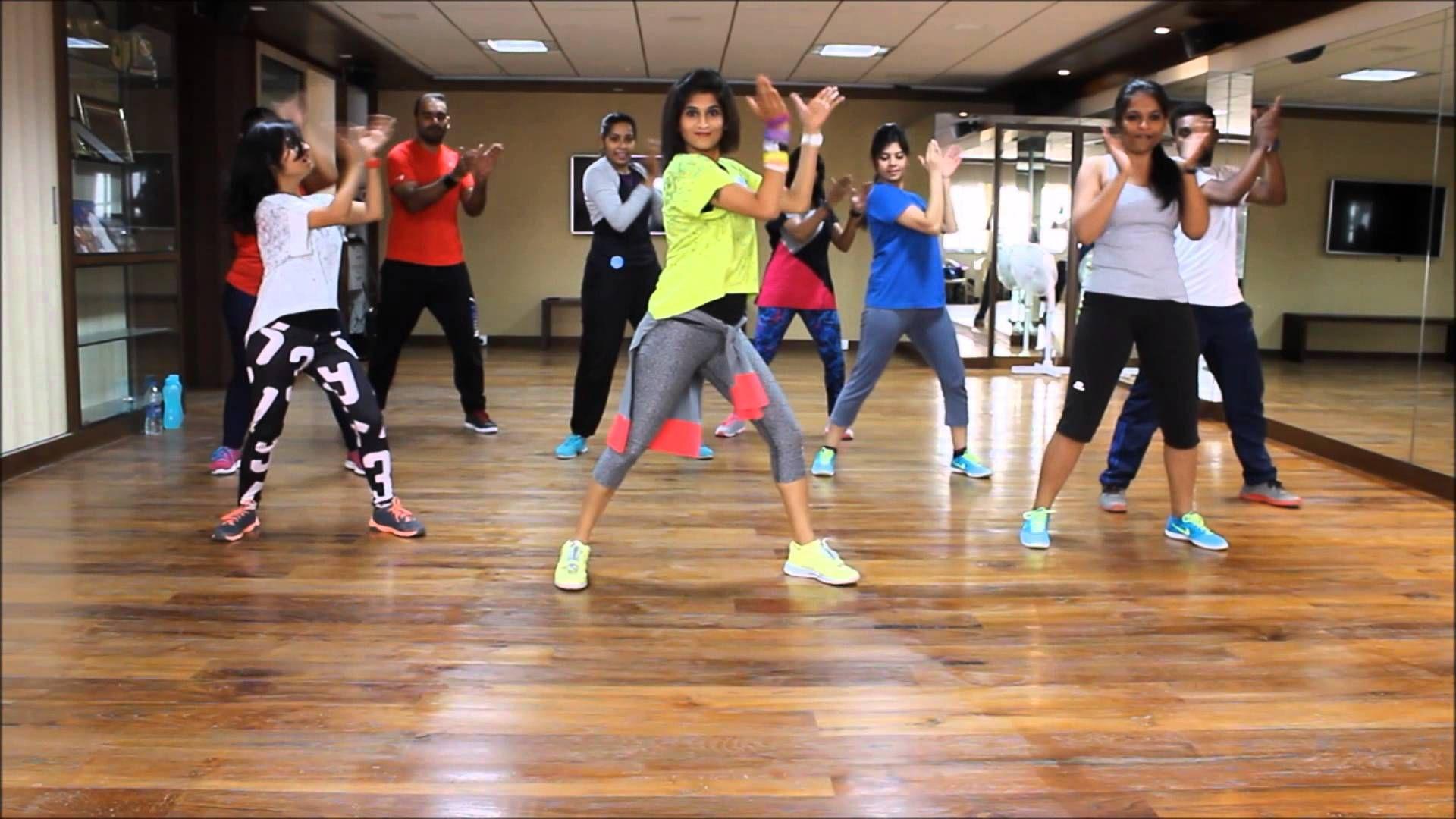 Zumba Warm-up on Sean Paul She Doesn't Mind Remix by Vijaya | Zumba