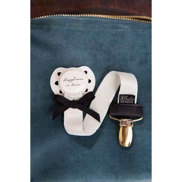 31632f39530ac Attache-tétine Precious Preppy - Elodie Details | attache sucette ...
