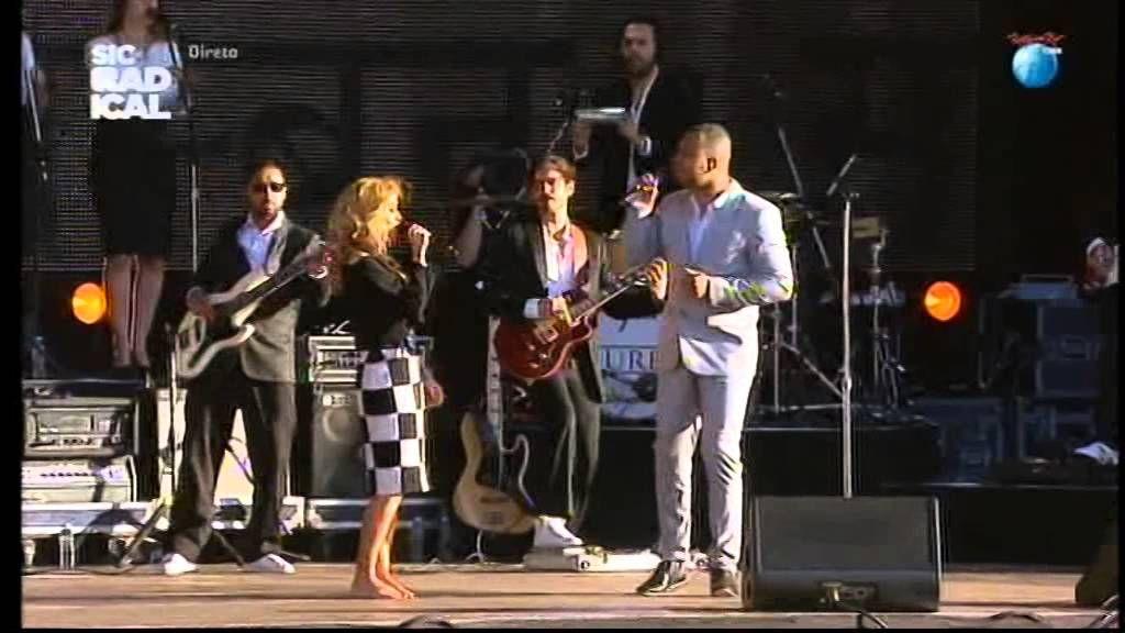 Show Completo  de Áurea e Boss AC no RockinRio Lisboa 2014