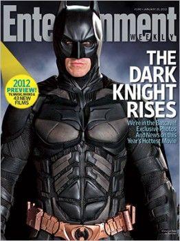 Batman from The Dark Knight Rises in EW