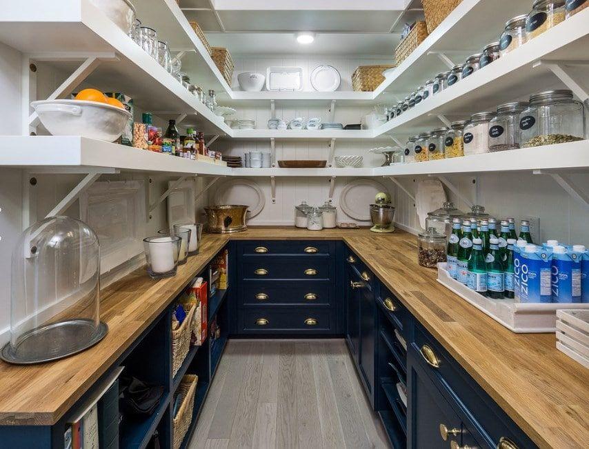 45 Gorgeous Walk In Kitchen Pantry Ideas Photos Kitchen Pantry Design Pantry Design Kitchen Remodel Small
