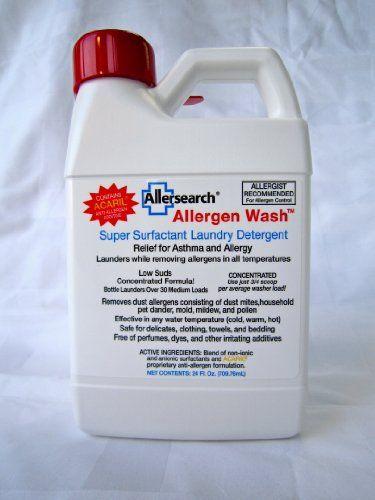 Allergen Wash Laundry Detergent 24 Oz Laundry Detergent
